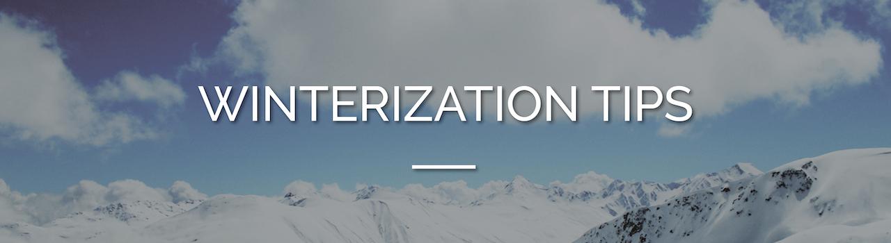 Winterization Tips Feature Image